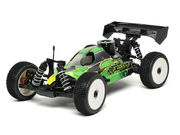 THECar RTR Nitro Green Body by JQRacing
