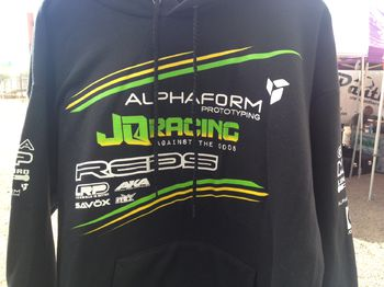 Official Factory Team Basic Hoodie by JQRacing