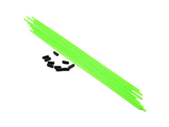 Antenna Tube (Green) 10pcs by JQRacing
