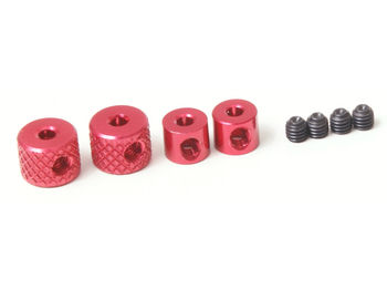 Linkage Collars (Red) by JQRacing