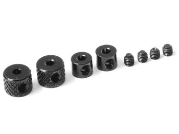 Linkage Collars (Black) by JQRacing