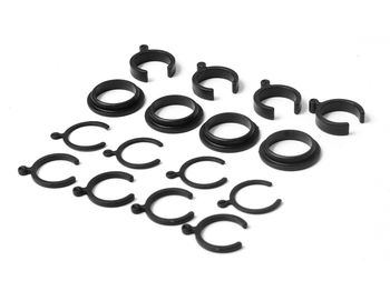 Plastic RideHeight Adjustment Clips (RTR) by JQRacing
