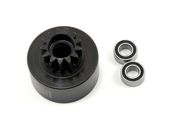 13t Clutchbell 2pcs 5x10 Bearing by JQRacing