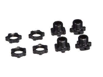 Lightened 4.3mm Hex with Nut by JQRacing