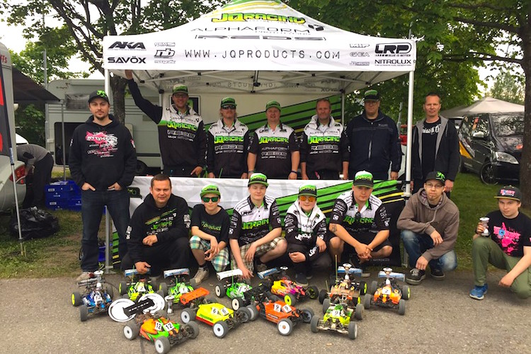 JQ Wins Finnish nats Rd 1!