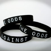 Against THE Odds Wristband by JQRacing