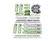 THE WE Sticker Sheet by JQRacing