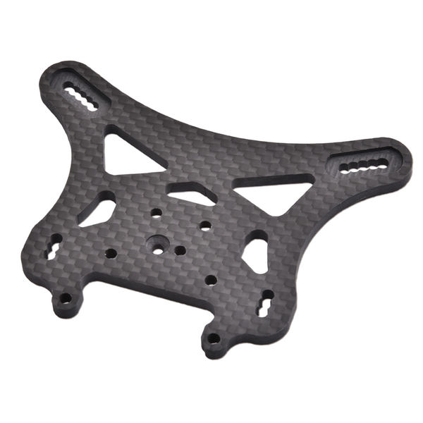 Carbon Fibre Low Rear Shock Tower Even Longer Link (BE) by JQRacing