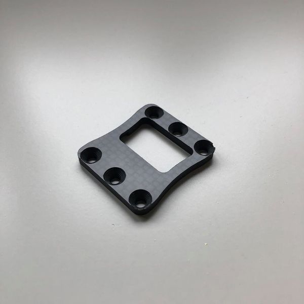 Carbon Fiber Centre Diff Mount Top Cover (BE, WE) by JQRacing