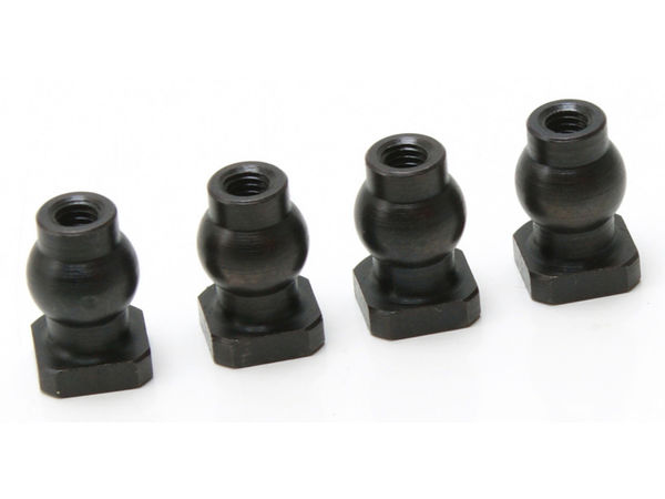 7mm Threaded Ball with Nut by JQRacing
