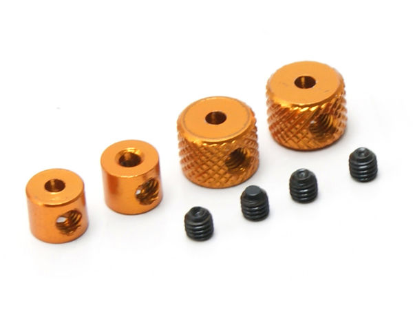 Linkage Collars (Gold) by JQRacing
