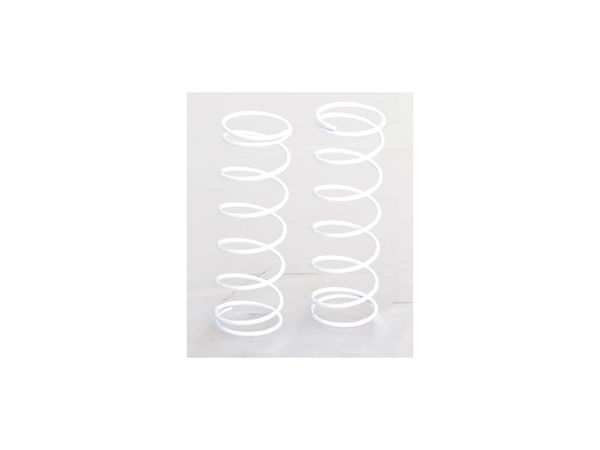F Springs 7.5-Coil 70mm Med (White) (WE, BE) by JQRacing
