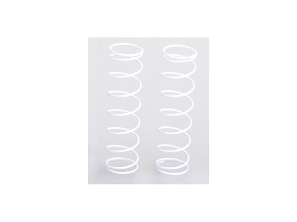 R Springs 8.5-Coil 85mm Med (White) (WE, BE) by JQRacing