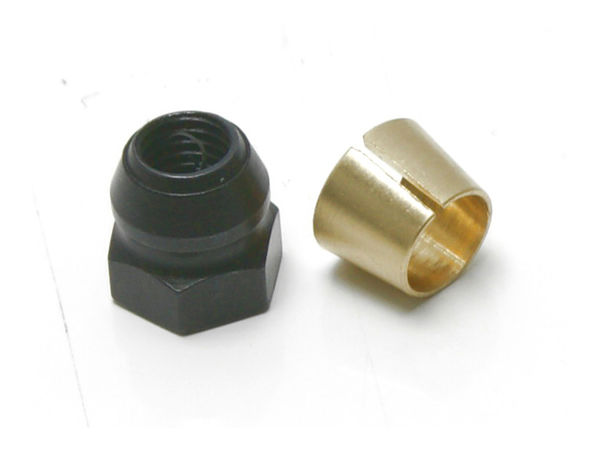 Clutch Nut and Collet (3-shoe) by JQRacing