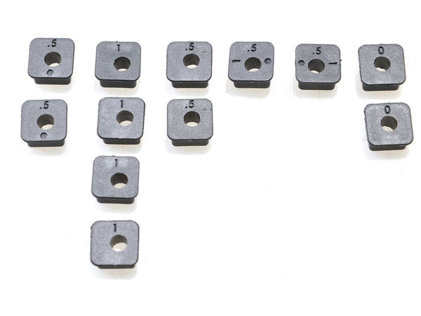 Square Insert Set 12Pcs (WE) by JQRacing