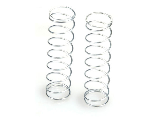 R Springs 9-Coil 85mm Soft (Silver) (WE, BE) by JQRacing