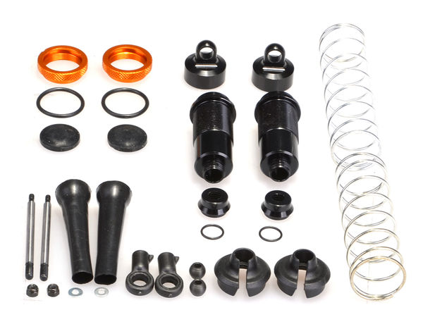 Rear Silk Shocks (2pcs) (YE) by JQRacing