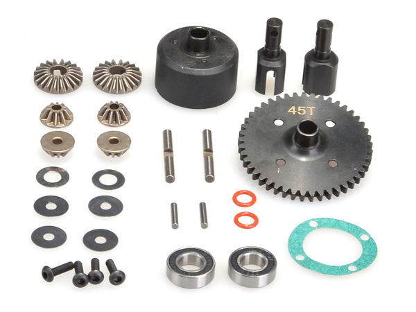 Complete Centre Diff (47t) by JQRacing