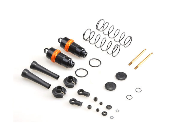 16mm Silk Front Shocks (2pcs) (BE, WE) by JQRacing