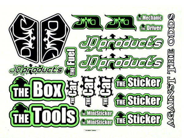 THECar Sticker Sheet by JQRacing