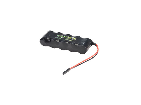 Receiver Batt NIMH 1200mAh 6V by JQRacing
