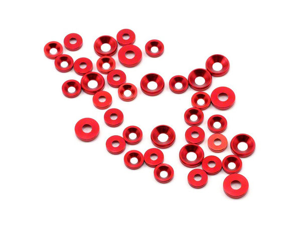 THE JQRacing M3 (26) M4 (12) CS Washer (Red)